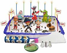 DISNEY CAPTAIN JAKE AND THE NEVERLAND PIRATES CAKE/CUPCAKE TOPPER DECORATING KIT