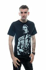 The Clash British Punk Rock Joe Strummer Men's T Shirt Crew Neck Fitted Cotton