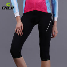 Women Outdoor Bicycle Cycling Gel 3D Padded Bike Shorts Pants S-XXL Comfortable