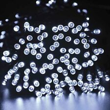 Outdoor Solar String Lights LED Fairy Christmas lights for Garden Party Holiday