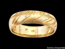 Lord of the Rings The One Ring of Power in 18k Yellow Gold