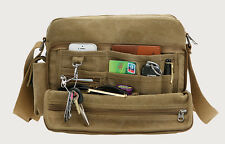 Hot Vintage Men's Canvas Shoulder Messenger Tool Bag School Sling Bag Satchel