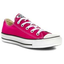 New Converse Chuck Taylor All Star Ox Pink 144806F Trainers Low Shoes Sneakers