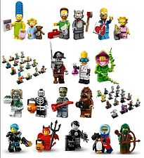 Lego The Simpsons / Monsters Minifigure, Your Choice, You Pick! Factory-sealed