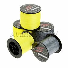 Power Spool 300/500/Spectra PE Dyneema Braid Fishing Line Fluorescent Strong
