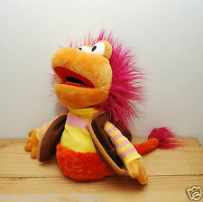 Fraggle Rock puppet Gobo toy hand glove orange Jim Henson Manhattan Toy
