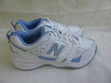 New Womens New Balance 409v2 Shoes Wide Width Style WX409WL2 WhiteBlue 132G