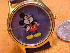 """""""LORUS"""" CLASSIC BLUE DIAL 'MICKEY' WATCH DIAL-FOR DISNEY USED-GREAT"""