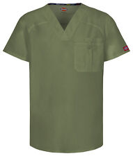 Dickies Scrub Short Sleeve Top 81714A OLWZ Olive Free Shipping