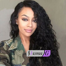 "12""-22"" Affordable Beauty Curly lace front wig 100% indian human hair baby hairs"