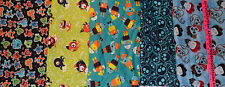 JOANN GREAT ROBOT, SKULLS & MONSTER PRINTS FLANNEL 1 YARD PRINT CHOICE