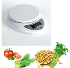 5KG Digital Weighing Postal LCD Electronic Kitchen Household Scale Food Cooking#