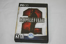 BATTLEFIELD 2 PC CD-ROM  WITH GAME CODE ON THE BACK OF GAME MANUAL (PC, 2005)