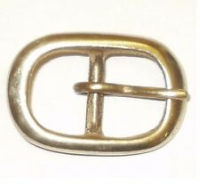"SOLID BRASS FULL BELT STRAP BUCKLE 3/4"" - 20MM"