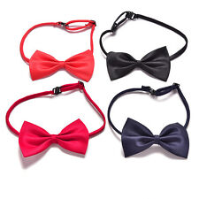 Boys Kids Children Toddler Infant Solid Bowtie Pre Tied Wedding Bow Tie NecktieL