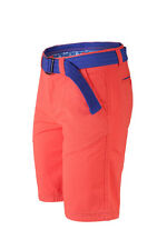 Mens Summer Chinos Shorts Coloured Cargo Combat Bottoms Belt Knee Length Casual