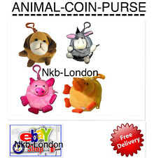 KIDS COIN WALLET ANIMAL SHAPED COIN PURSE WALLET FOR KIDS GIRLS BOYS