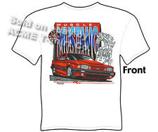 5.0 Mustang T Shirt GT Ford Tee Muscle Car Apparel Ponycar Clothing