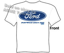 Ford Shirt Blue Oval T Shirt Automotive Emblem Badge Logo Tee Sz M L XL 2XL 3XL