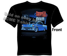 Chevy Shirt Chevrolet Clothing Vintage Car Shirts 1956 56 Bel Air Drive-In Tee