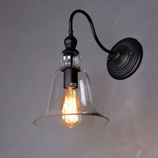 Vintage Industrial Wall Lamp Ceiling Lamp Glass Lamp Shade Light Fixture New
