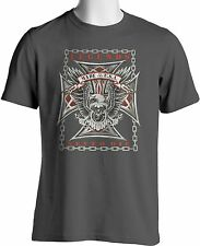 Biker T Shirt Legends Never Die USA Eagle Motorcycle Big and Tall Free Shipping