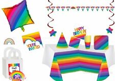 PREMIUM Rainbow Party Supplies/Rainbow Themed Birthday Party/Party Decorations!!