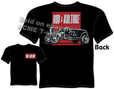 32 Roadster Hot Rod T Shirt 1932 Ford Tee Vintage Car Clothes Bonneville Kulture