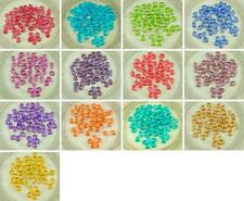 60pcs NEW FINISH Solgel Faded Color Crystal Czech Glass PRECIOSA PIP Beads Flat