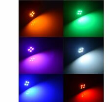 50 100 T10 4 SMD White Amber Red Blue Pink   LED Car Side Wedge Tail Light Lamp