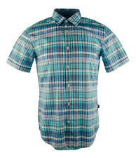 Boss Hugo Boss Men's Slim Fit Marco Short Sleeve Button Down Plaid Shirt