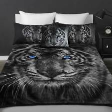 Thick Double Sided White Tiger Luxury Sueded Faux Fur Mink Blanket Super Soft