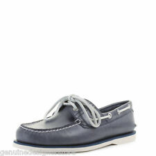 TIMBERLAND BOAT SHOES MEN'S NAVY PREMIUM LEATHER RRP £105 UK 7-UK11 NEW