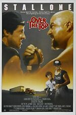 OVER THE TOP Movie Silk Fabric Poster Sylvester Stallone 1987 ARM WRESTLING