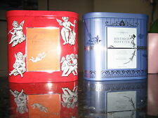 FORTNUM & MASON MUSICAL BISCUIT TINS X 2 CHRISTMAS & BIRTHDAY LOVELY