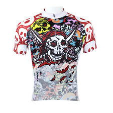 Men Cycling Jersey Breathable Por Bicycle Clothing T-shirt Cycling Bike Wear 4XL