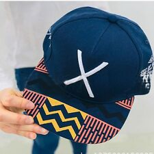 Blue Unisex Men's Girls Adjustable Baseball Sports Cap Snapback hip-hop Logo Hat