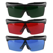 Protection Goggles Safety Glasses Green Blue Red Eye Spectacles Protective