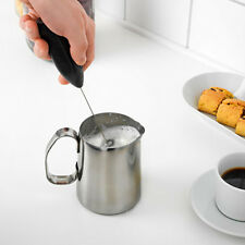 Electric Mini beating Egg Stainless Steel Coffee Mixer Foam Kitchen ToolNG