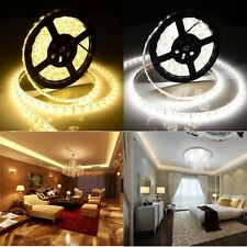 3528 5050 SMD LED Strip Light Cool Warm White DC 12V 6-30M Flexible Waterproof