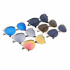 Women Ladies Cat Eye Retro Vintage Style Metal Frame Sunglasses Eye Glasses