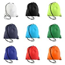 Premium School Drawstring Duffle Bag Sport Gym Swim Dance Shoe Backpack