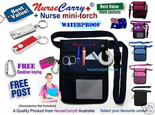 Nurse Carry® Pocket WAIST POUCH Quick Pick Bag + Nurse Mini-Torch + Free Post