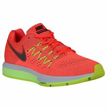 NIKE AIR ZOOM VOMERO 10 RUNNING SHOES MEN'S CRIMSON/GREEN/VOLT SELECT YOUR SIZE