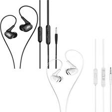BYZ-E162 HIFI Headphone Super Bass Headset Noise Isolating Earphone Earbuds D1M3