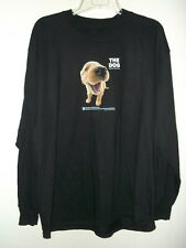 NEW XL GOLDEN RETRIEVER T SHIRT by THE DOG COLLECTION LONG sleeved BLACK