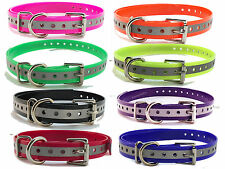 """Sparky PetCo Garmin Compatible 3/4"""" Replacement Reflective Straps 8 Colors USA"""