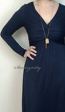 NWT sz M Anthropologie Gathered Jersey Dress by Bailey 44 Flattering comfortable