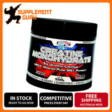 APS CREATINE MONOHYDRATE CREAPURE 500G ENERGY STRENGTH RECOVERY SUPPLEMENT