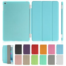 Smart Sleep Wake Magnetic Stand Cover Hard Back Case for Apple iPad 234 Mini Air